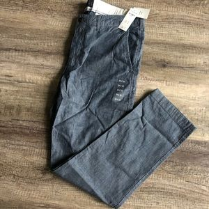Abercrombie and Fitch Slim Straight Trousers